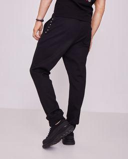 Czarne spodnie dresowe Rockstud