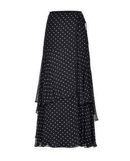 Maxi sukně Polka Dot