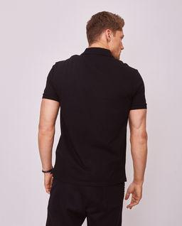 Czarna koszulka polo VLTN