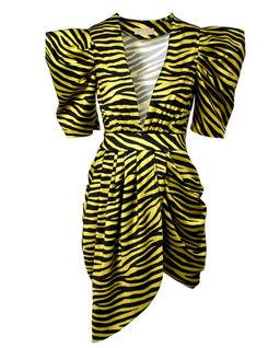 Sukienka mini w zwierzęcy print