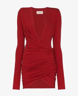 Czerwona sukienka mini