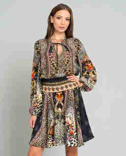 Sukienka z kryształami Swarovskiego