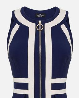 Ołówkowa sukienka z zamkiem