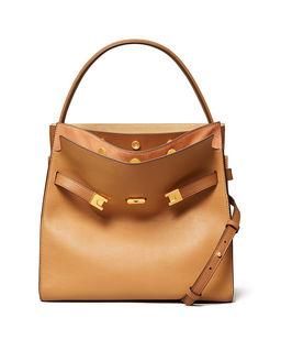 Brązowa torba Lee Radziwill Double Bag