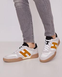 Zamszowe sneakersy H357