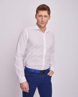 Biała koszula z bawełny