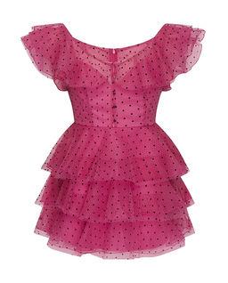 Różowa sukienka Odyssey