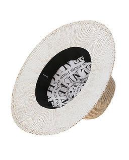 Biały kapelusz Rico