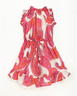 Kolorowa sukienka ze wzorem Peggy Flip 2-8 lat