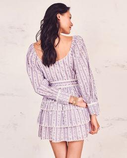 Sukienka z falbanami Astor