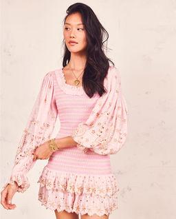 Różowa sukienka mini Celia