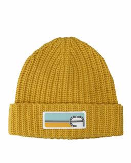 Żółta czapka z logo