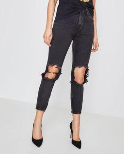 Czarne jeansy Freebirds High Waist