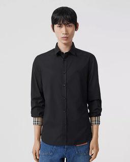 Czarna koszula Slim Fit