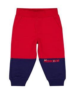 Dwukolorowa spodnie dresowe 0-3 lat