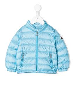 Niebieska kurtka pikowana 0-3 lat