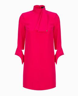 Sukienka mini z wiązaniem