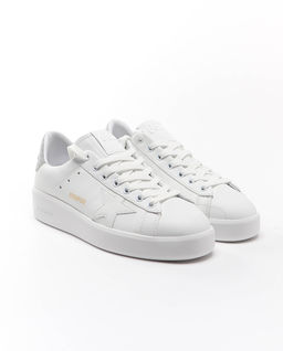 Białe sneakersy Pure