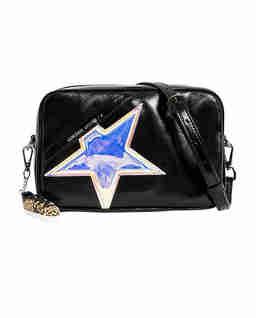 Czarna torebka na ramię Star