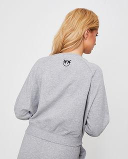 Bluza dresowa Casatiello z logo i cyrkoniami
