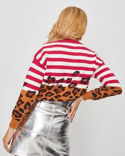 Sweter z motywem zwierzęcym Acerina
