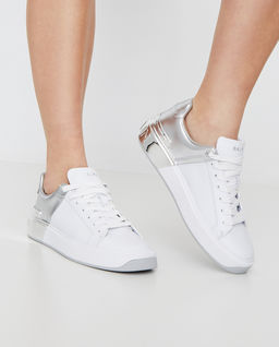 Dwukolorowe sneakersy