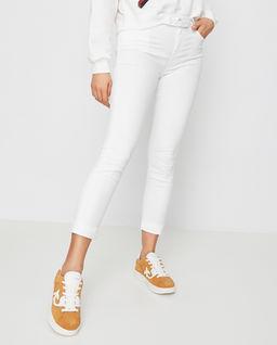 Białe Jeansy Sabrina 18