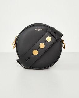 Okrągła torebka ze skóry
