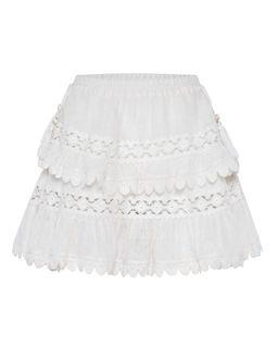 Biała spódnica Utopia