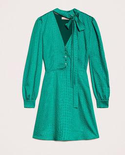 Sukienka w print krokodyla