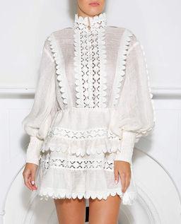 Lniana sukienka Ceremony