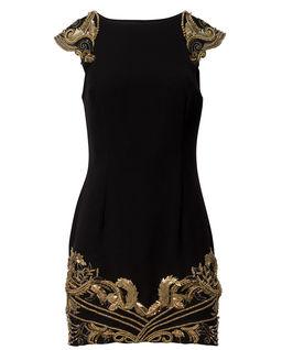 Koktajlowa sukienka Orient