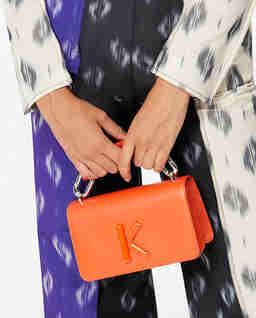 Oranžová kabelka Kandy