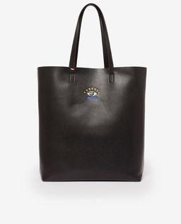 Czarna torebka tote z okiem