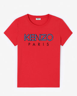 Czerwona koszulka z logo