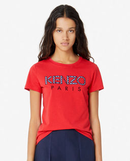 Červené tričko s logem