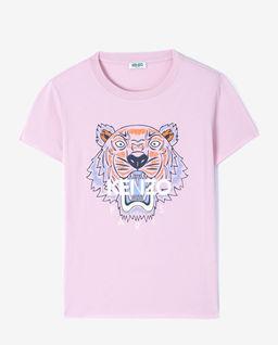 Różowa koszulka z tygrysem