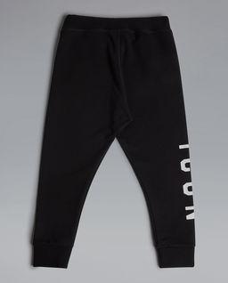 Czarne spodnie dresowe  6-16 lat