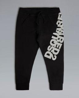 Czarne spodnie z logo 6-16 lat
