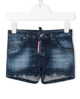 Granatowe spodenki jeansowe 4-16 lat