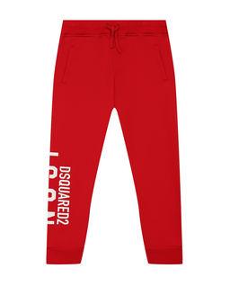 Czerwone spodnie dresowe 4-16 lat