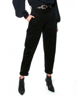 Spodnie  sztruksowe w stylu lat 80