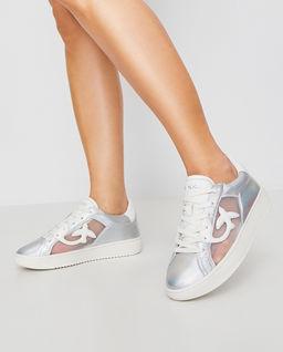 Metaliczne sneakersy Liquiriza