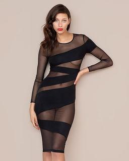 Czarna sukienka Sia
