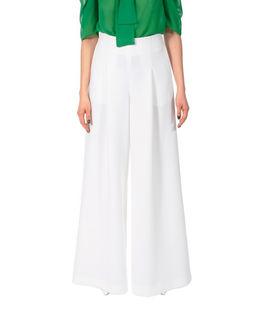 Białe spodnie Rebecca