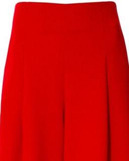 Czerwone eleganckie spodnie Rebecca