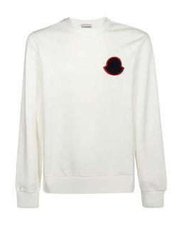 Biała bluza z naszywką