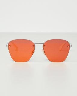 Pomarańczowe okulary przeciwsłoneczne
