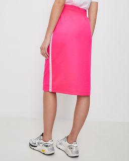 Różowa spódnica z lampasami