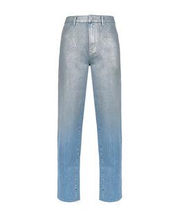 Metalizowane jeansy Maddie 3 Mom